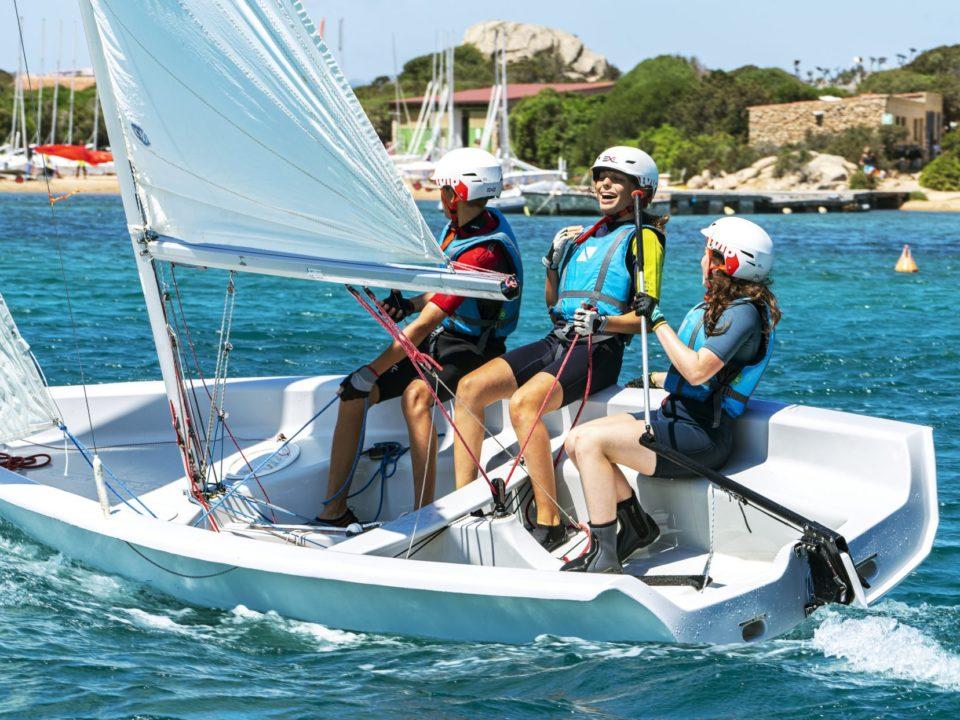 COrsi Under 14 vela centro velico caprera Sardegna