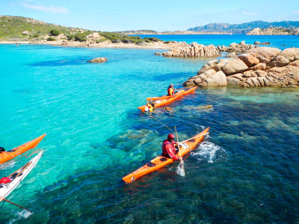 kayak caprera corso base